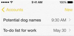 iOS 7 노트